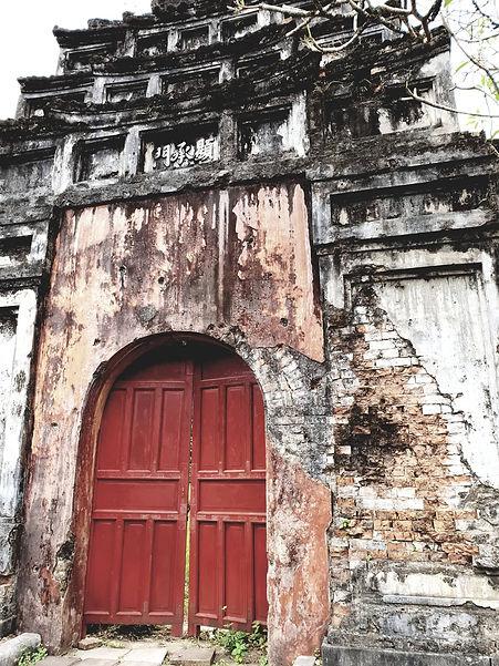 Porte de la cité impériale de Hué