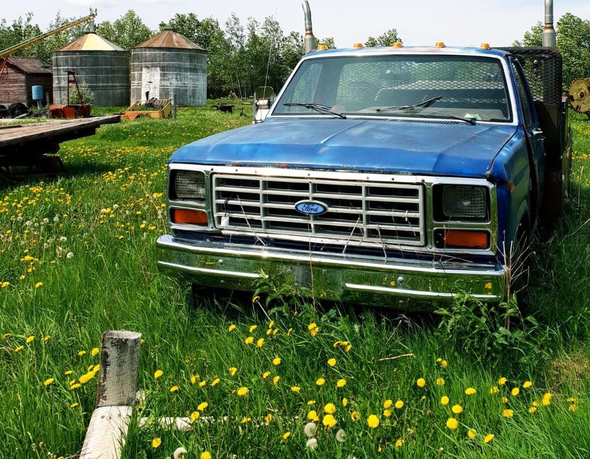 Ferme dans le Saskatchewan
