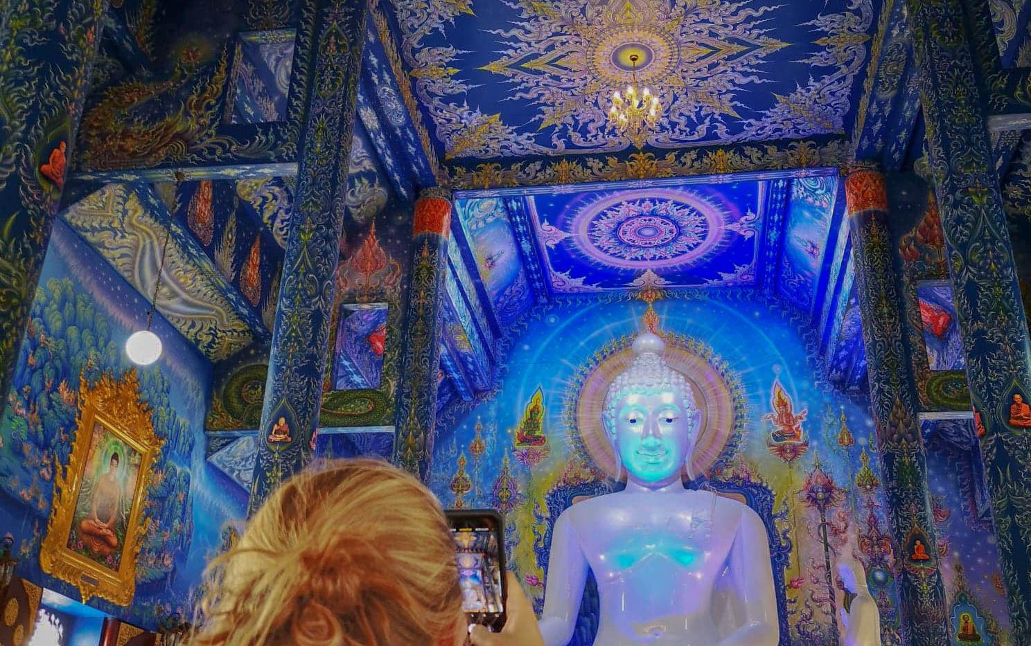 Temple bleu de Chiang Rai