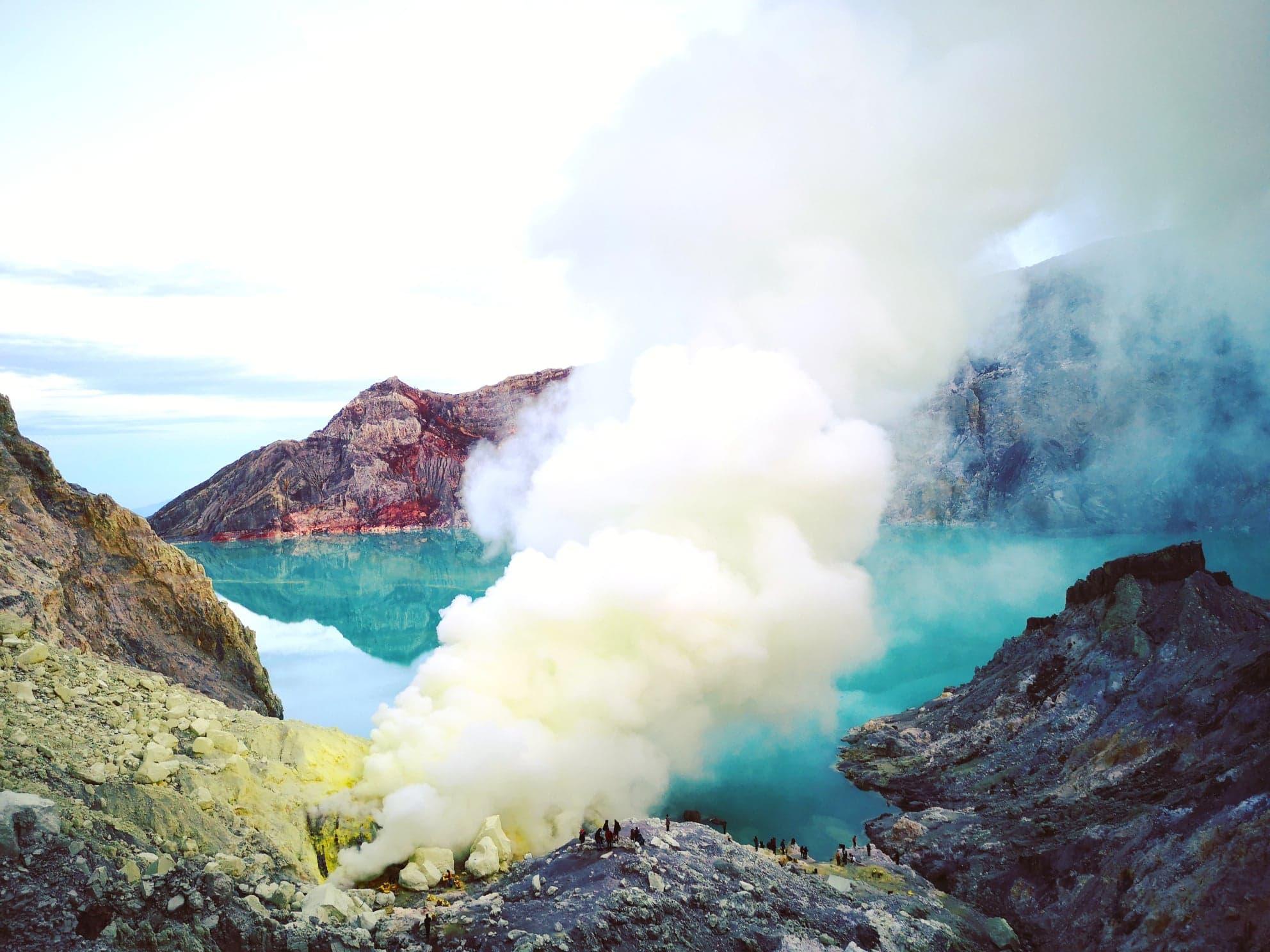 Cratère du Volcan, Mont Ijen