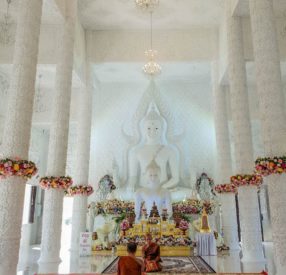 Moines à Chiang Rai