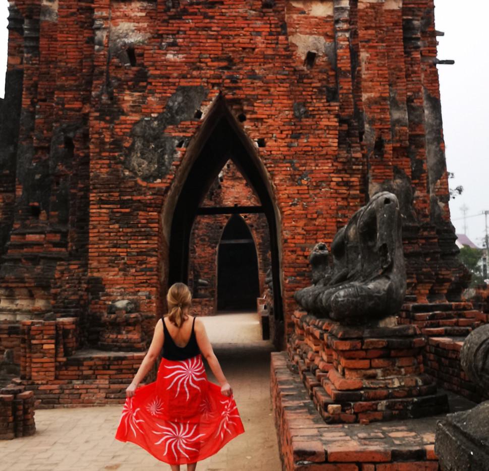 Séance photo au Wat Chai Watthanaram
