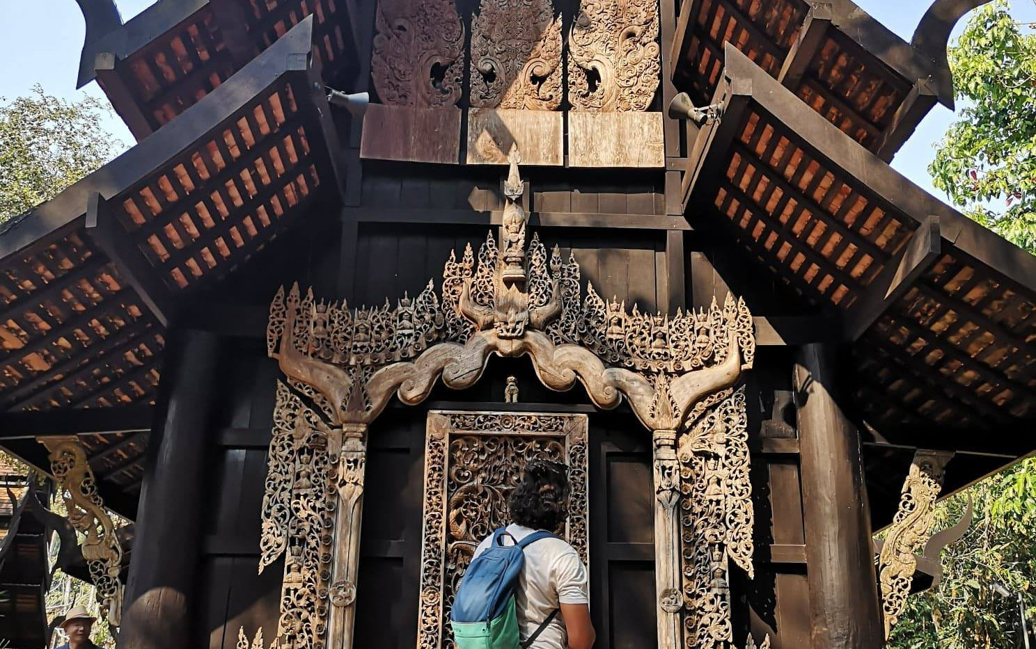 Le temple noir de Chiang Rai