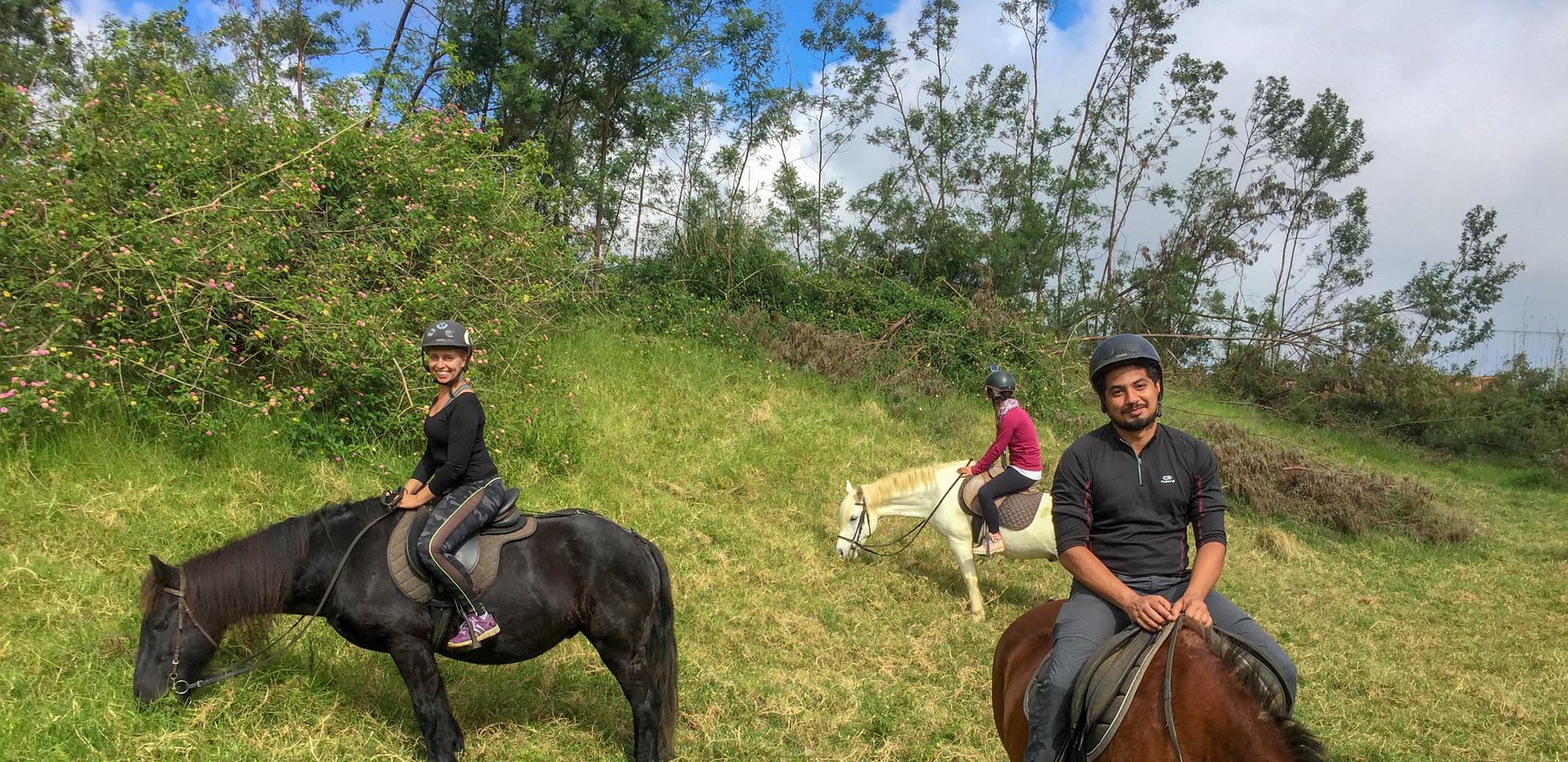 Equitation au Maïdo