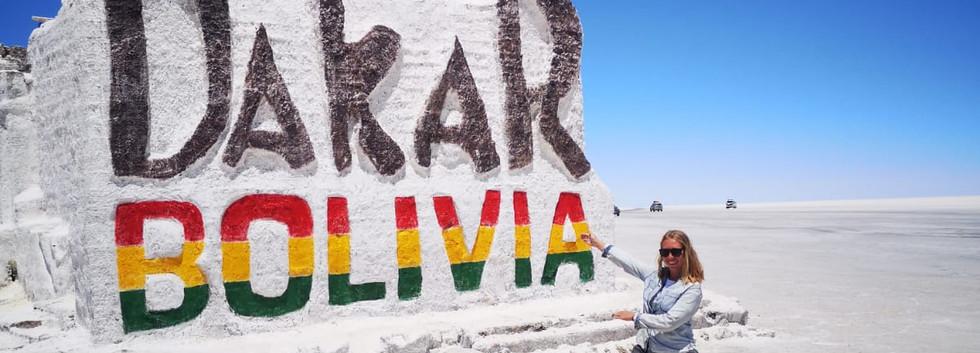 Sur la route du Dakar