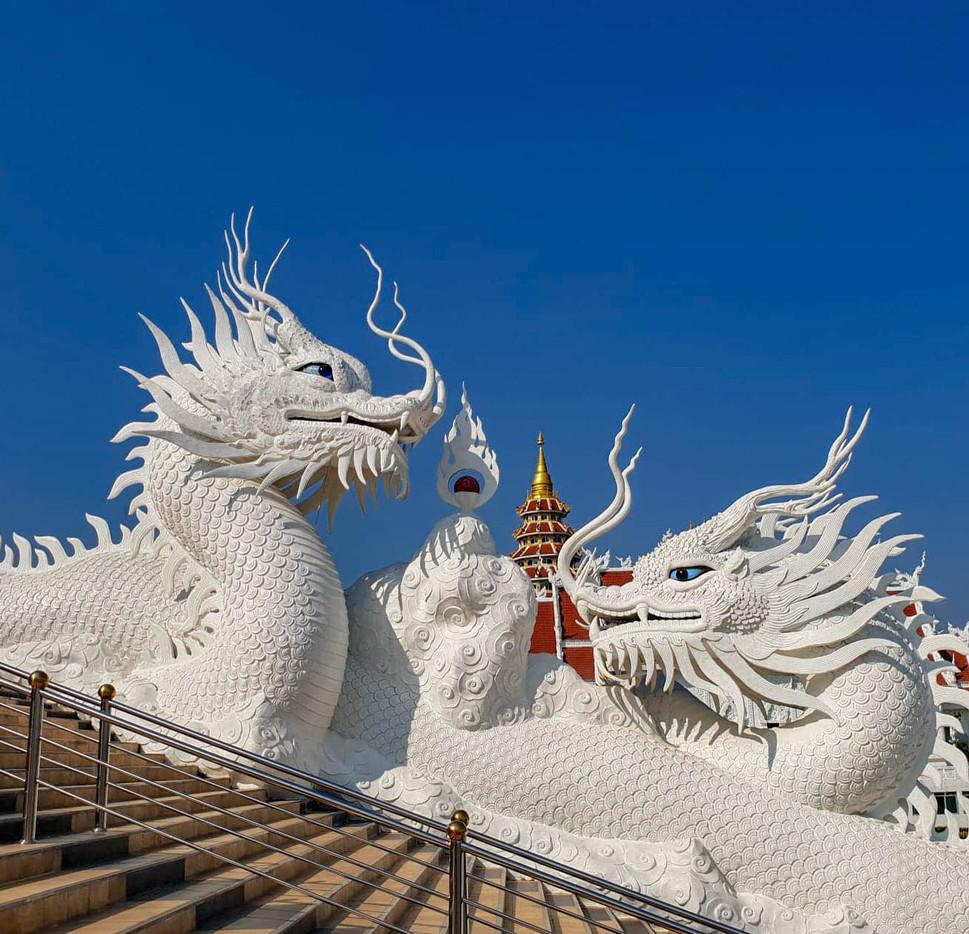 Dragons à Big Bouddha