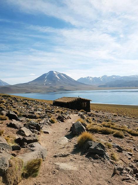Lagune Miscanti, Atacama