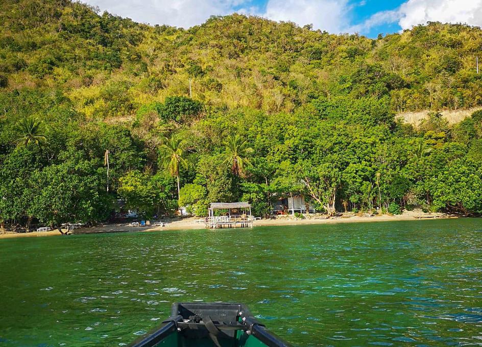 Canoe Alam Indah Beach, Coron