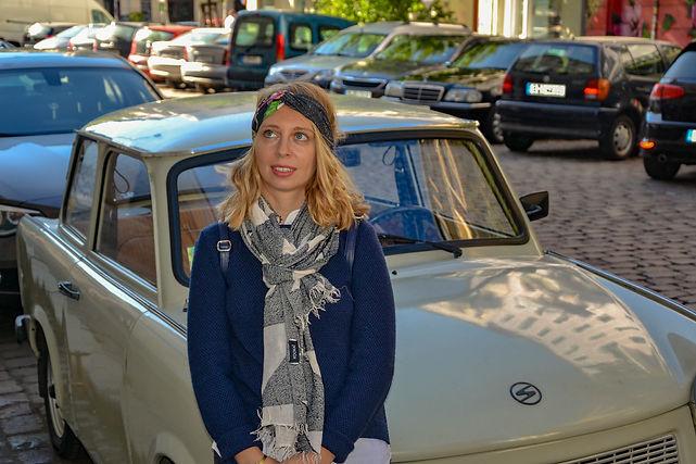Sarah dans Prenzlauer Berg