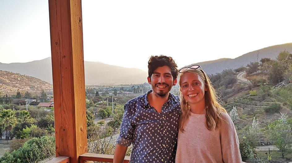 Sarah & Alvaro à Curacavi.