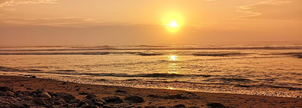 Coucher de soleil à Huanchaco