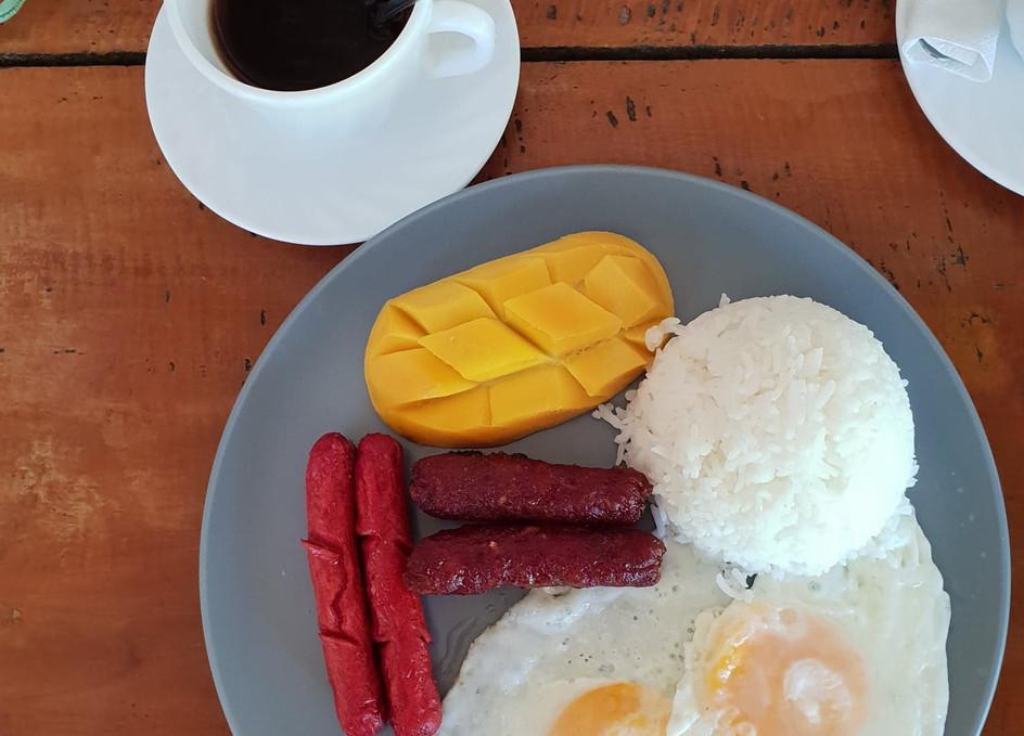 Petit déjeuner local, Siargao