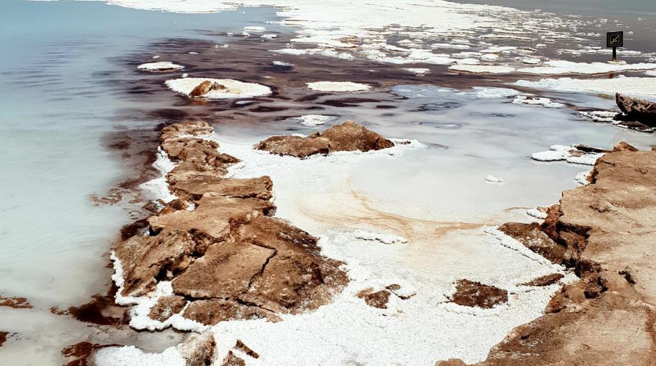 Autre vue sur une des lagunes de Baltinache.
