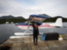 Hydravion à Tofino