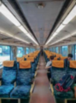 Train à Taiwan