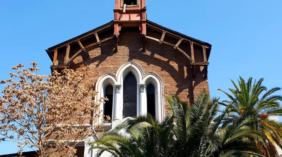 Une église du centre de Santiago