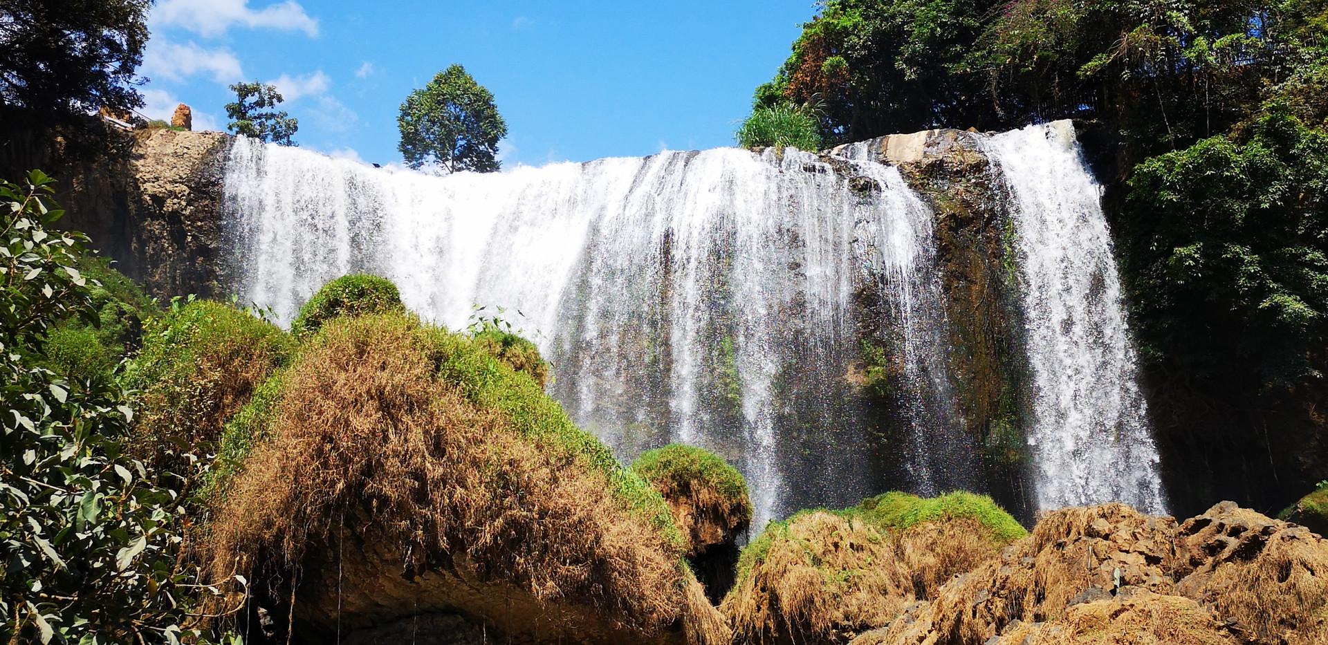 Elephant Waterfalls près de Da Lat