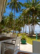 Beach club Pacifico à SIargao, Philippin