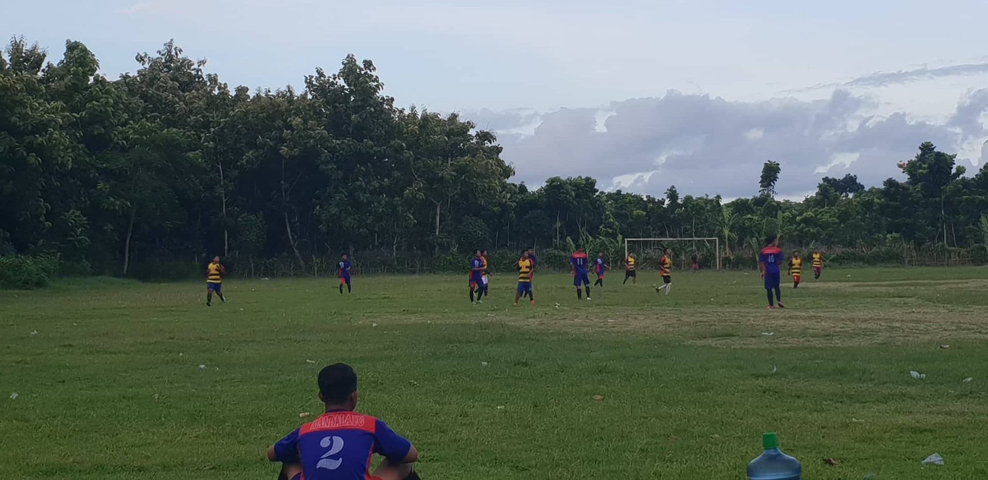 Match de football à Java