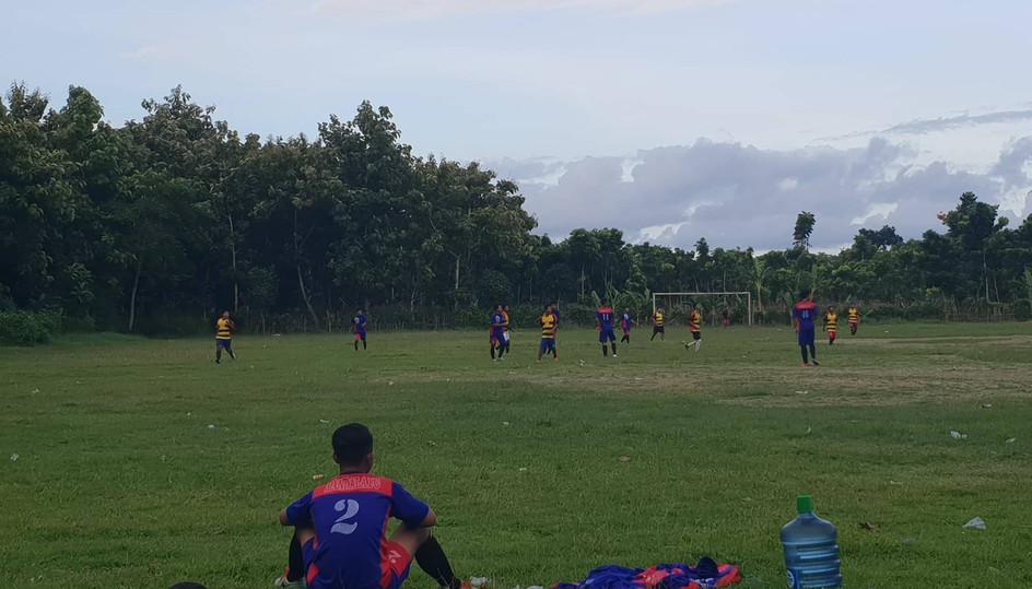 Match de football à Java