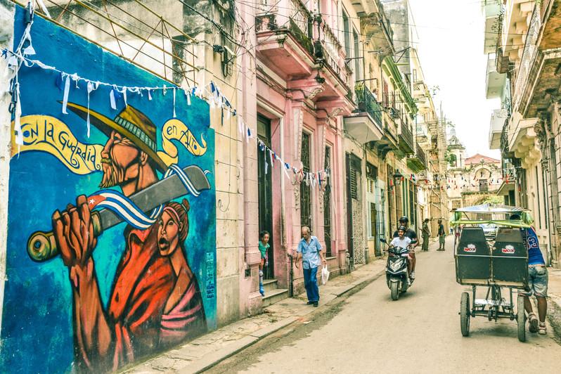 Street Art dans Habana Vieja