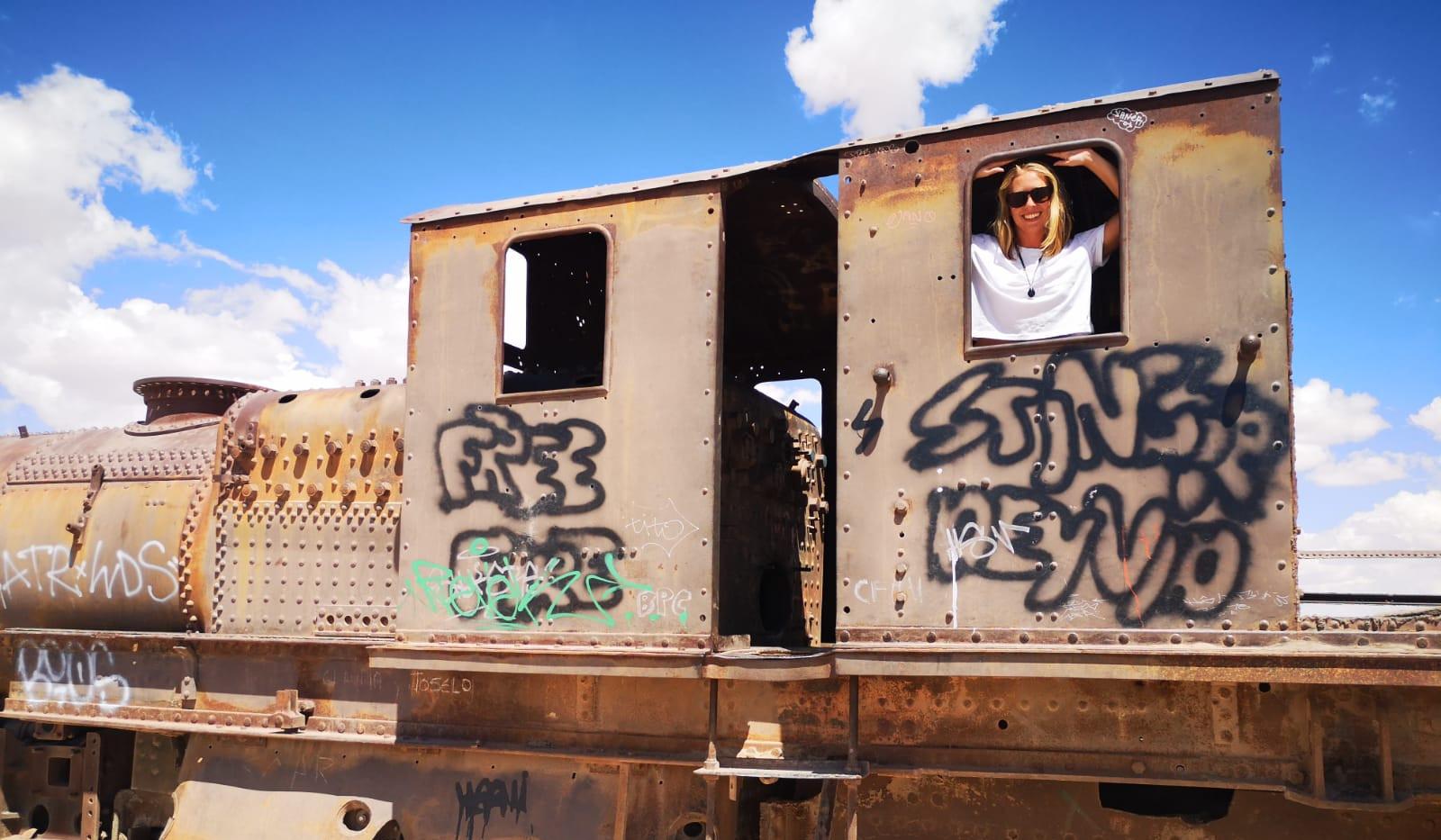 _Le train et la conductrice_