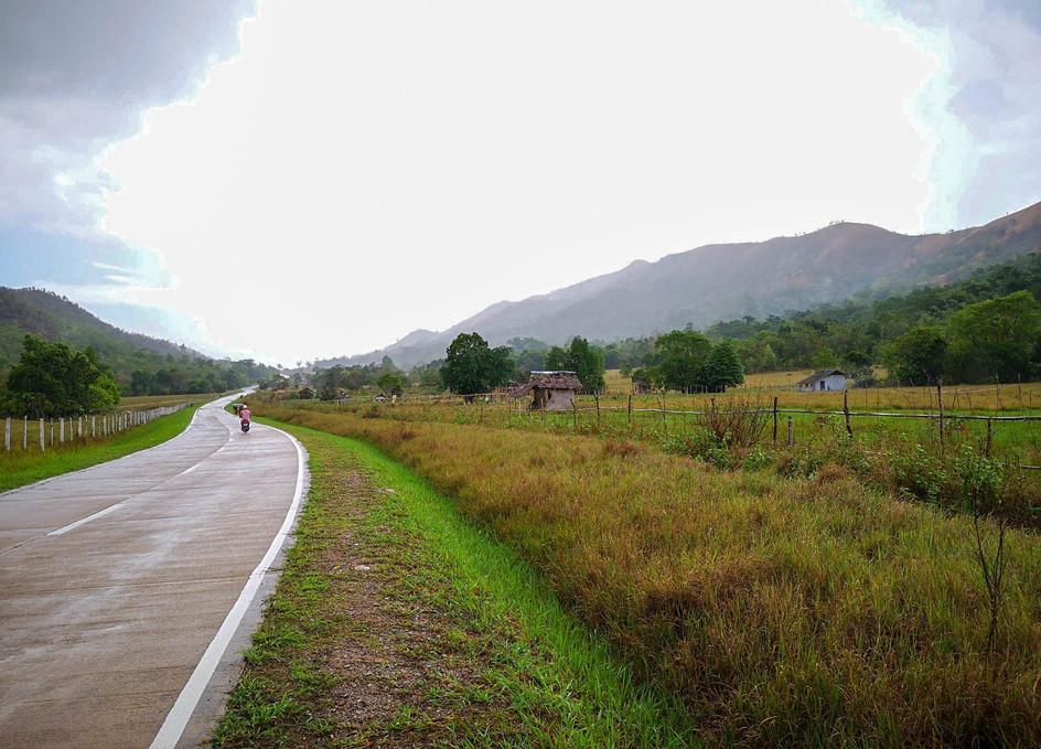 Route de l'aéroport, Coron