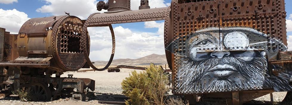 Cimetière de train, Uyuni