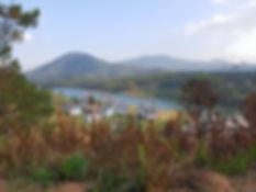 Lac près de Da Lat