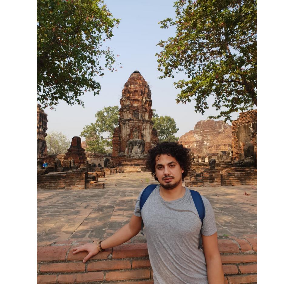 Slimen à Ayutthaya