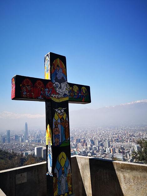 Vue sur la ville depuis le Cerro San Cri