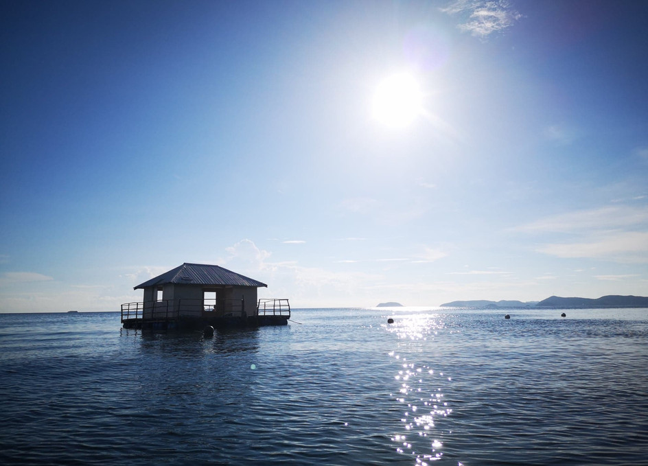 Cabane, Alam Indah Beach, Coron