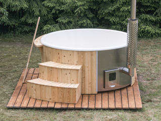 Introducing our range of wood-fired eco hot tubs