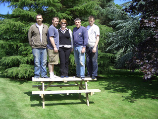 Introducing Our New Range Of Garden Tables And Benches