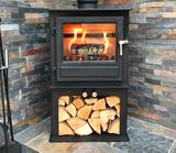 The British made Blithfield 5 stove from Clock Woodburners