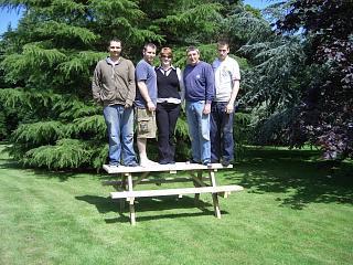 6ft Extra Heavy Duty Redwood Picnic Bench