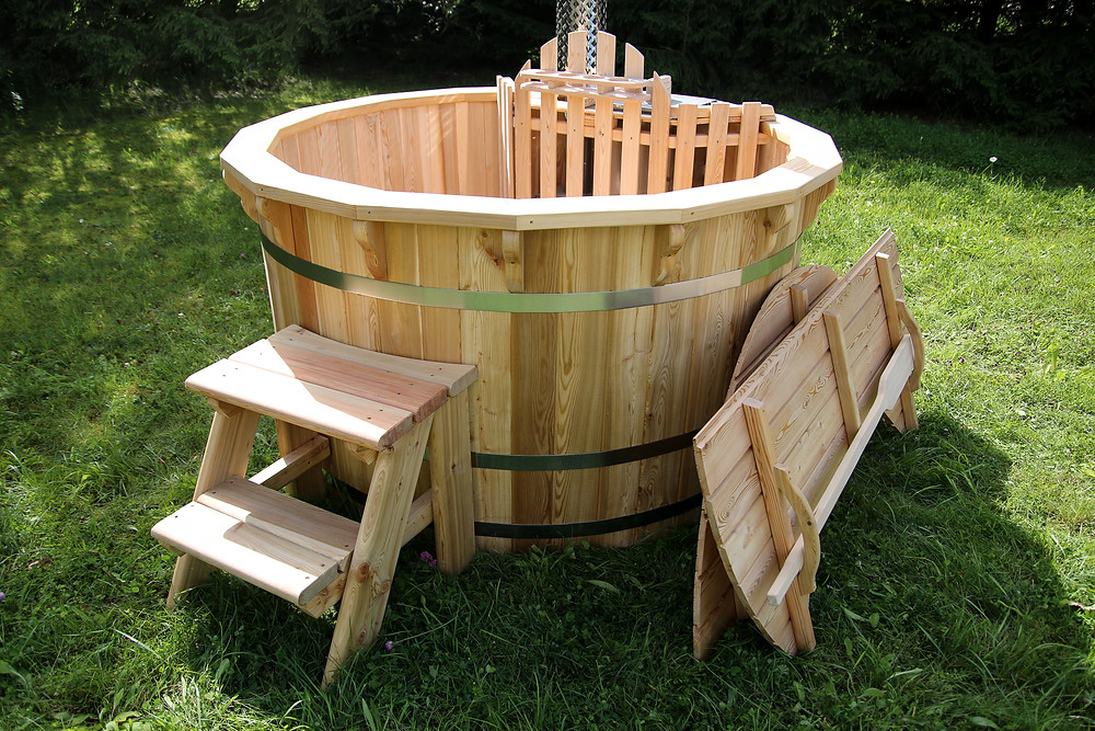 All wooden Eco Hot Tub