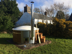 Hire Our Eco Hot Tub when you stay