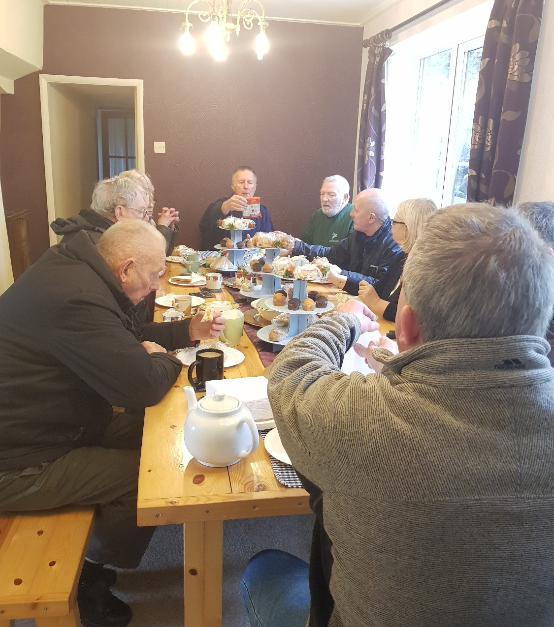 Afternoon Tea with Veterans Shed