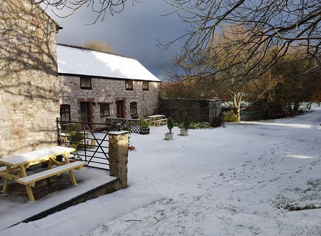 Enjoy your break at Pen-y-Bryn Farm during autumn and winter 2018