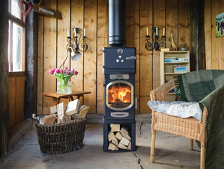 The new GO Eco Adventurer 5 glamping stove from Charlton & Jenrick