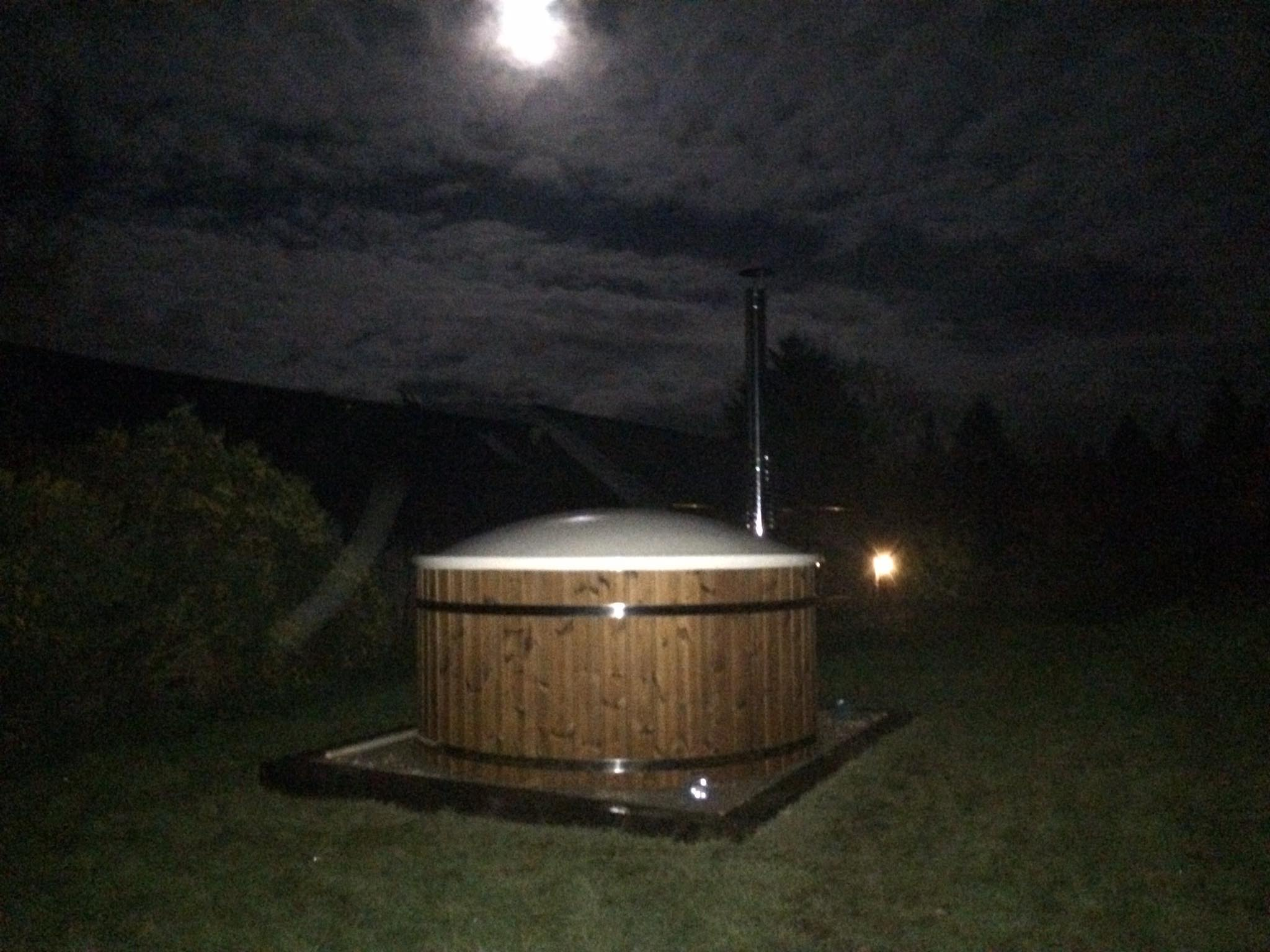 Eco Hot Tub hire on a nightly basis.