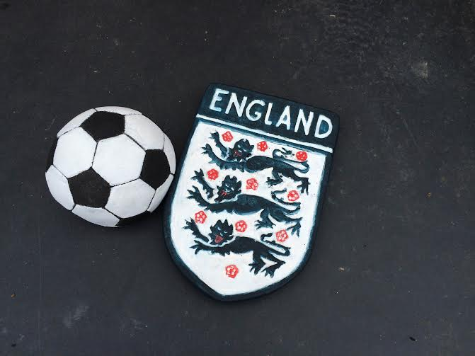 England Shield and Football