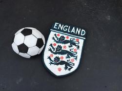 England Shield and Football