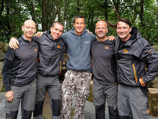 Adventures With Bear Grylls' Team In North Wales