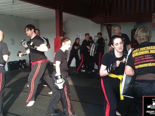 Stay and Train in Krav Maga