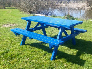 Our range of handmade, heavy-duty garden furniture