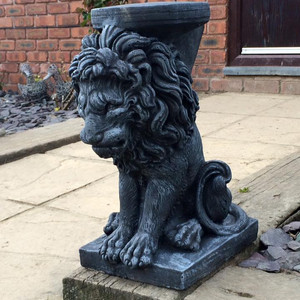 Stone Owl Garden Ornaments Introducing our new range of garden ornaments and plant stands the complete range includes bulldog gargoyle england shield football lamb land rover lion plant stand lion statue mr mrs mole owl pig workwithnaturefo