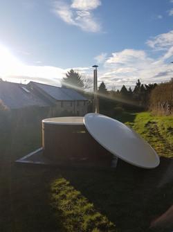 Wood-Fired Eco Hot Tub