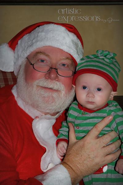 Santa & Carter Torrence